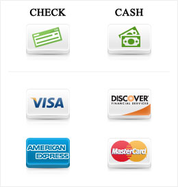 Payment options accepted forms of payment